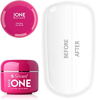 Base transparente gruesa para uñas de gel UV sin ácidos 50 g