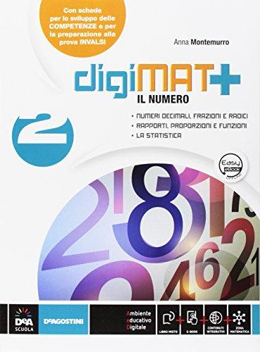 DigiMAT +: Aritmetica 2 + Geometria 2 + Quaderno competenze 2 + eBook: Vol. 2