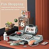 LYing Cajero Inteligente Jugar Juguetes de casa, simulación de supermercado Mesa de Comedor cajero de niños Juego de combinación