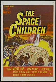The Space Children Movie Poster (27 x 40 Inches - 69cm x 102cm) (1958) -(Michel Ray)(Adam Williams)(Peggy Webber)(Johnny Washbrook)
