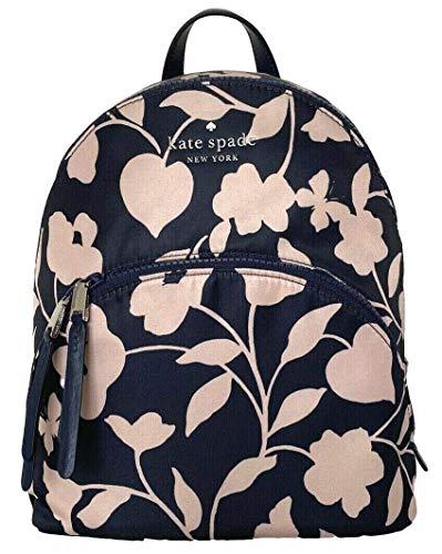 Kate Spade New York Karissa Nylon Garden Vine Medium backpack Nightcap Multi