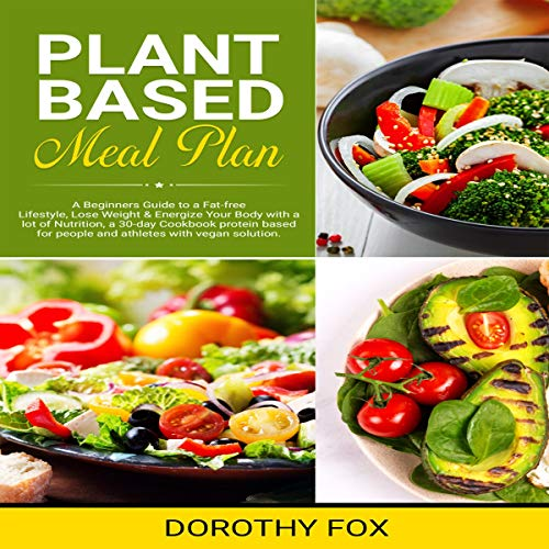 Plant Based Meal Plan audiobook cover art