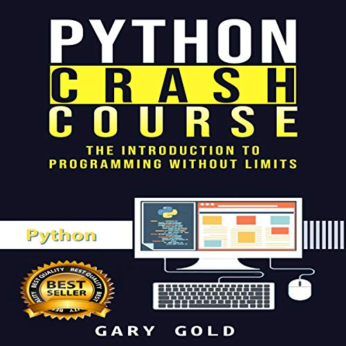 Python Crash Course audiobook cover art