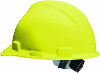 Safety Works 10102260 Hard Hat Ratchet Suspension V-Gard, Yellow