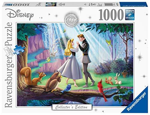 Ravensburger Puzzle Puzzle 1000 Pezzi, La Bella Addormentata nel Bosco, Puzzle per Adulti, Disney Collector's Edition, Puzzle Disney, Puzzle Ravensburger - Stampa di Alta Qualità