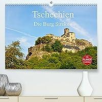 Tschechien - Die Burg Strekov (Premium, hochwertiger DIN A2 Wandkalender 2022, Kunstdruck in Hochglanz): Das beliebte Ausflugsziel Burg Schreckenstein (Geburtstagskalender, 14 Seiten )