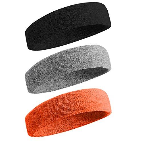 BEACE Sweatbands Sports Headband...
