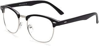 Embryform Vintage Inspired Classic Horn Rimmed Nerd Clear Lens Glasses