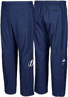 Tampa Bay Lightning NHL Men's Navy Blue Center Ice Authentic Rink Pants