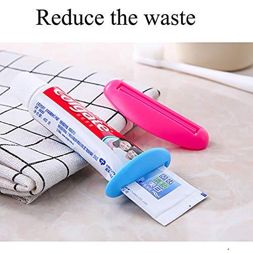 GCOA6個多機能チューブ絞り器軟膏押出器歯磨き粉押出機便利プラスチック絞り器(3サイズ)