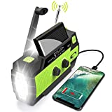 Best Solar Radios - Emergency Flashlight Radio,2020 Upgraded AM/FM/NOAA Weather Solar Crank Review