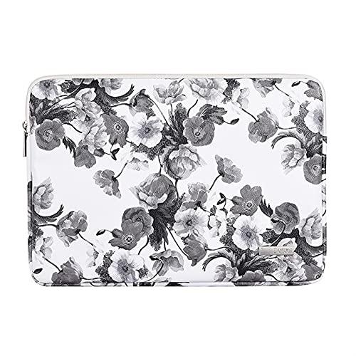Bolso portátil de la Marca Impermeable 11,12,13,14,15,15.6 Pulgadas, Manga de la Manga de MacBook for MacBook for Air Pro M1 PC, (Color : G1 01 PU Ink, Size : 2016 2020 Mac Pro 13)