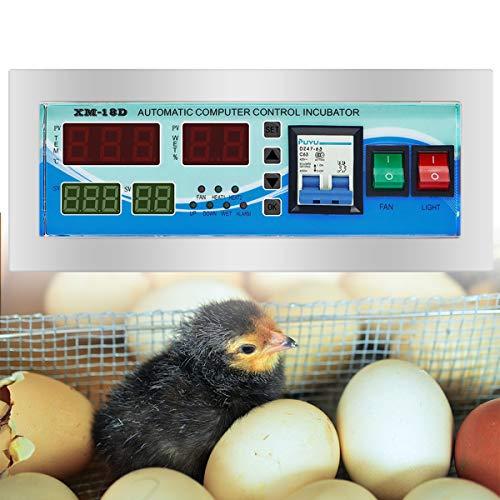 Multifunctionele volautomatische ei incubator Controller Thermostaat met temperatuur-vochtigheidssensoren Gevogelte incubator