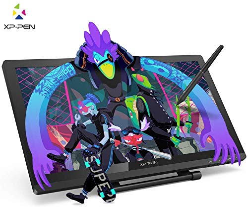 XP-PEN Artist 22 Pro HD IPS Grafiktablet Pen Display Grafikmonitor Drawing Tablet 8192 Drucksensitivität zum Malen für Home-Office