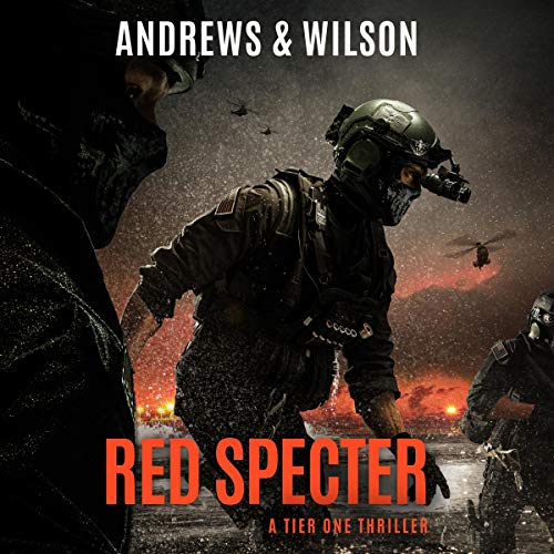 Red Specter audiobook cover art