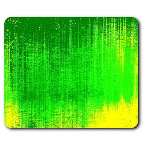 Comfortabele muismat - groen basismateriaal cool voor computer & laptop, bureau, cadeau, anti-slip onderlegger