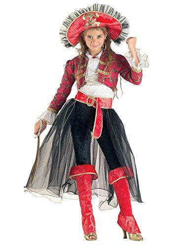chiber Disfraces Disfraz de Chica Corsaria (10-12 años)