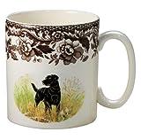 Spode Woodland Hunting Dogs Black Labrador Mug