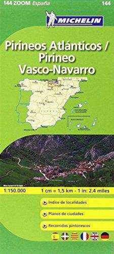 Mapa Zoom Pirineos Atlánticos / Pirineo Vasco-Navarro (Mapas Zoom Michelin)