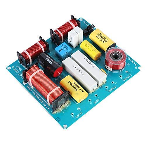 Luidspreker frequentieverdelerbord, 3-weg luidspreker crossover filter audiofrequentiedeler 300W voor doe-het-zelf KTV-podiumluidsprekers