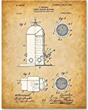 Espresso Machine - 11x14 Unframed Patent Print - Great Gift and Decor for Restaurant, Cafe, Coffee...