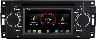 autosion Unidad principal de Android 9.0 Radio de coche reproductor de DVD GPS navegación estéreo para Chrysler 300 C Jeep Commander Dodge Ram Caliber