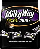 Milky Way Midnight Dark Chocolate Minis Size Candy Bars Bag, 8.9 Oz (Pack of 3)