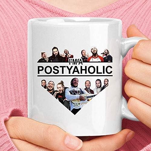 I m A Postyaholic I Love P o s t m a l o n e Mug Camping Travel Ceramic Mug Water Bottle product image