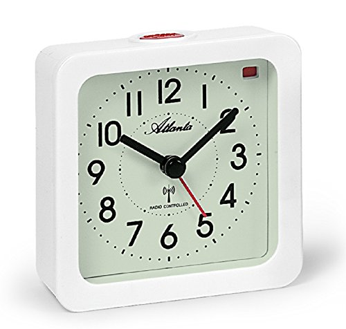 ATLANTA Despertador, Color Crema, 9,5 x 9,5 cm