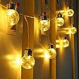 LE Guirnalda de Luces LED, 6m 25 Bombillas, Bajo...
