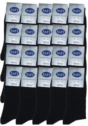 r-dessous 20 Paar Herren Socken schwarz Business Herrensocken Baumwolle ohne Naht Strümpfe Groesse: 47-50