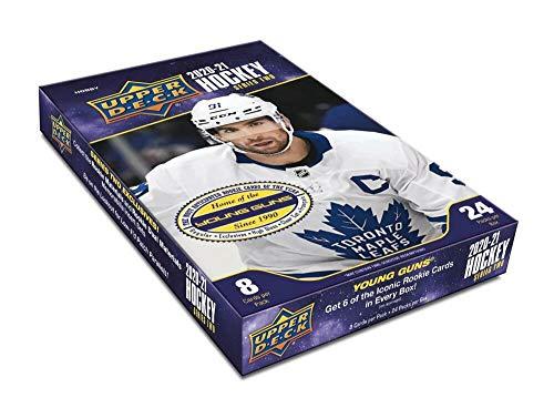 2020/21 Upper Deck Series 2 NHL Hockey HOBBY box (24 pks/bx)