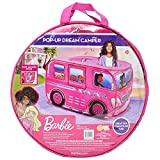 Sunny Days Entertainment Barbie Camper Pop Up Play Tent – Pink Dream House for Kids | Carrying Bag Included