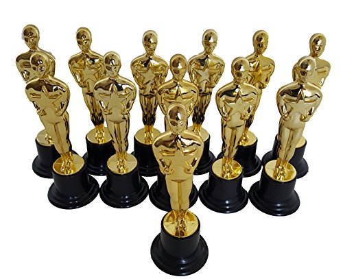 Dondor Plastic Gold Trophy Awards - Bulk Trophy Awards! (Oscar)