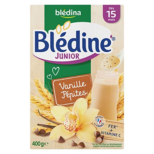 Blédina Bébé Bla Bla © © Dina Deen Junior Vanilla pà © Milben (DAS 15 Monate) Die Boîte Von 400G (6er-Set)