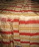 Puresilks TAFS29 Taft / Taft, gestreift, 137 cm, Lachs,