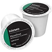 100-Count Amazon Brand Solimo Light Roast Coffee Pods (3 flavors)