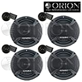 Best Orion Car Speakers - Two Pair 4 Component Speakers Orion CO652C New Review