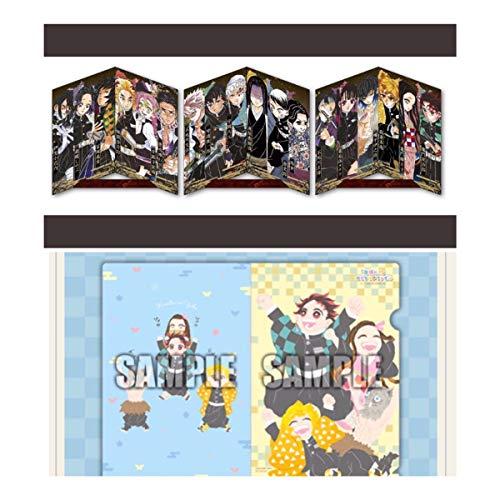 無ジャンプgiga 2020 spring 鬼滅の刃 クリアファイル 屏風仕様ポストカード セット anime キャラクター グッズ
