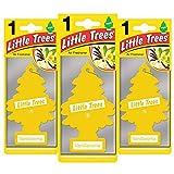 LITTLE TREES LTZ001 - Ambientador con Fragancia de vainillaroma (3 Unidades)