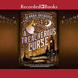 A Treacherous Curse audiobook cover art