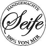 Rayher 34270000 Label 'Handgemachte ...', 45 mm ø, SB-Btl 1 Stück