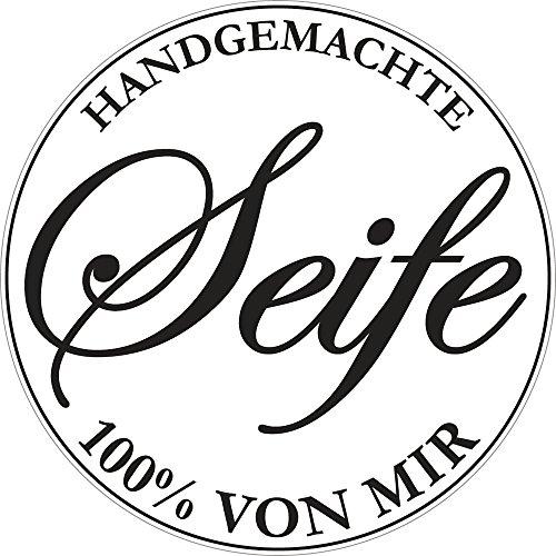 """Rayher 34270000 Label """"Handgemachte ..."""", 45 mm ø, SB-Btl 1 Stück"""