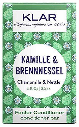 Klar Seifen fester Conditioner Kamille & Brennessel, 100 g