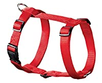 Nylon harness 4 fold adjustable Fully stitched Available in red, lilac, turquoise, blue, brown, black From the hunter smart