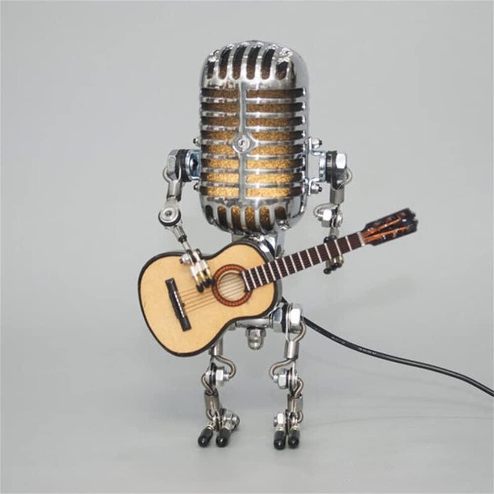 YAZL 2021 Manufacturer direct delivery Vintage Microphone Robot Desk Lamp R Elegant Metal
