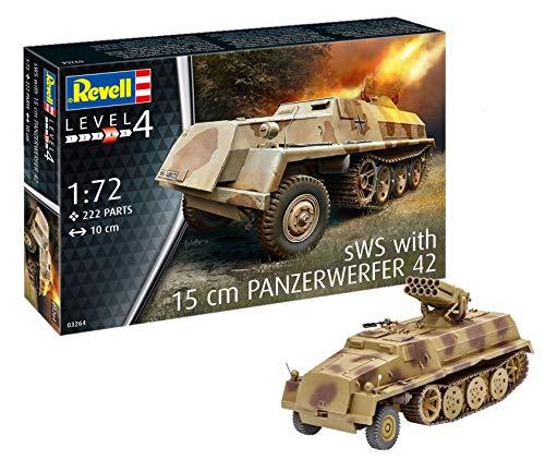 Revell 03264 Panzerwerfer 42 auf SWS 12 Modellbausatz with 15 cm Maßstab 1: 72, Level 4