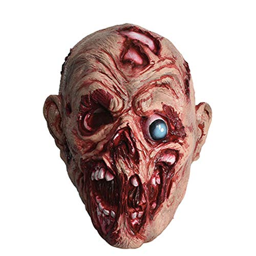 EXUVIATE Halloween Masker Gezicht Huid Grim Reaper Gemaakt Zombie Kostuum Partij Rubber Latex Hamulus Angst Masker