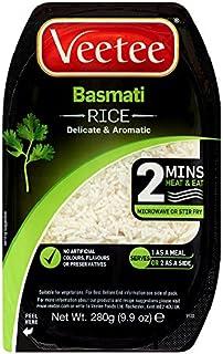 Veetee Dine In Basmati Rice 280 g (Pack of 6