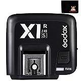 GODOX X1R-S ソニー用 受信機 フラッシュレシーバー 2.4G TTL ハイスピードシンクロ1/8000s ワイヤレスリモコン シャッターレリーズ Sony一眼レフカメラ対応 GODOX X1T-S 送信機と互換性がある